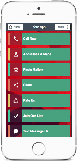 Mobile business cards online phones tablets colourmoves